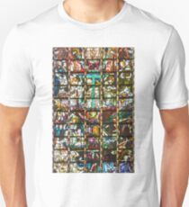 Rostock Germany Stained Glass T-Shirt