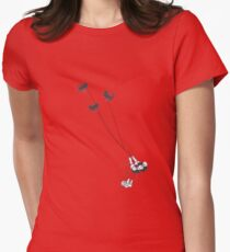 Tullulah's bat kite Womens Fitted T-Shirt