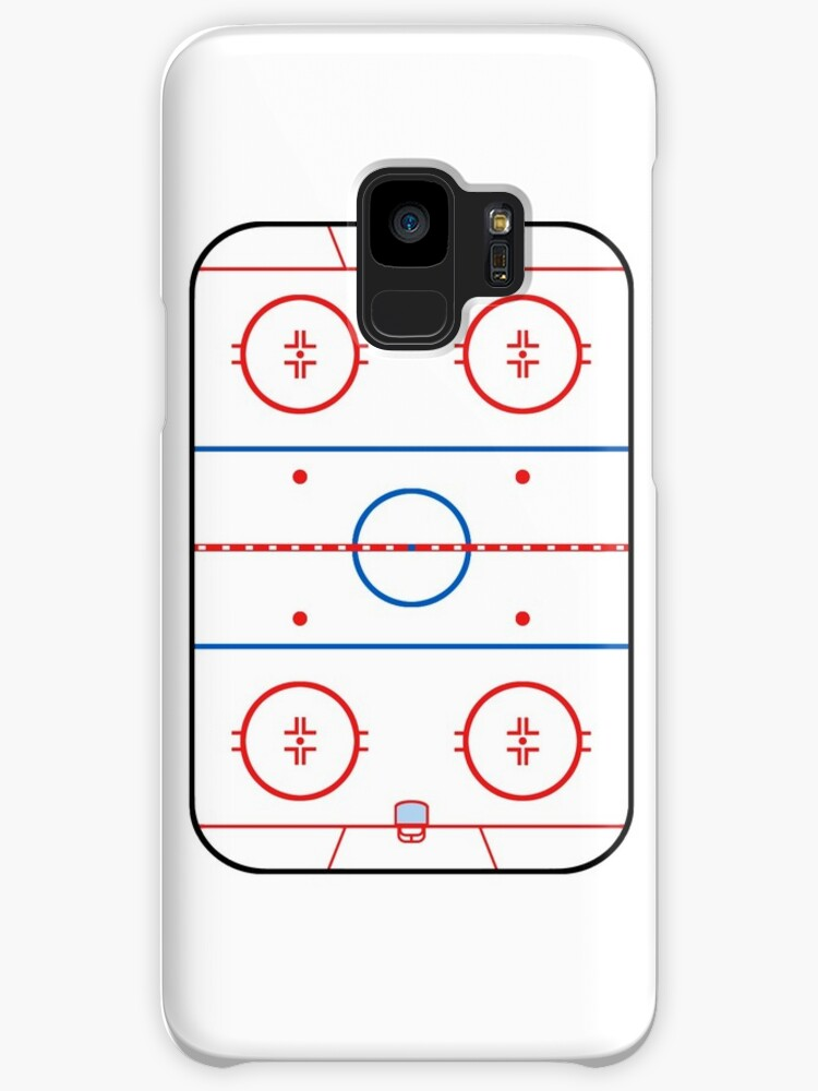 Ice Rink Diagram Hockey Game Companion Cases Skins For Samsung