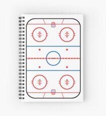 Eisbahn Diagramm Hockey Spiel Companion Spiralblock