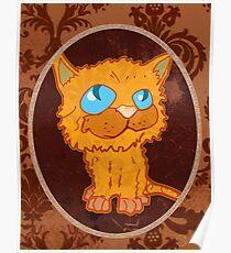 THE ORANGE CAT Poster