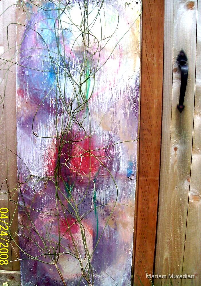 Outdoor Art Series 1L Gate by Mariam Muradian