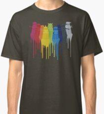 Dalek Extermination Rainbow Classic T-Shirt