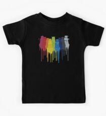 Dalek Extermination Rainbow Kids Tee
