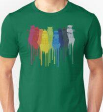 Dalek Extermination Rainbow T-Shirt