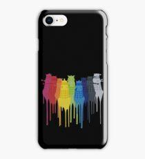 Dalek Extermination Rainbow iPhone Case/Skin