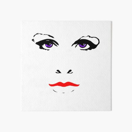 Everybody Knows about the Ex's Face Art Board Print