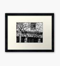 Charleston in the Shadows Framed Print