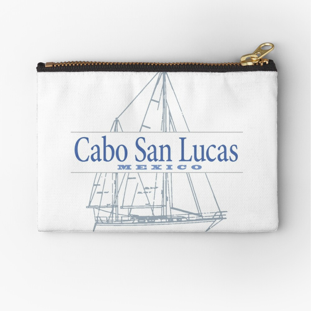 Cabo San Lucas Zipper Pouch