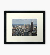 Atlanta Daytime Skyline  Framed Print
