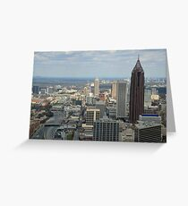 Atlanta Daytime Skyline  Greeting Card