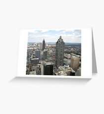 Atlanta Aerial View (Day Time)  Greeting Card