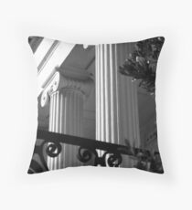 Hibernian Iron & Columns No. 7 Throw Pillow