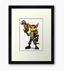 Ratchet and Clank Framed Print