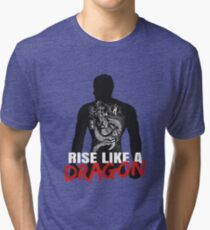Rise Like A Dragon Tri-blend T-Shirt