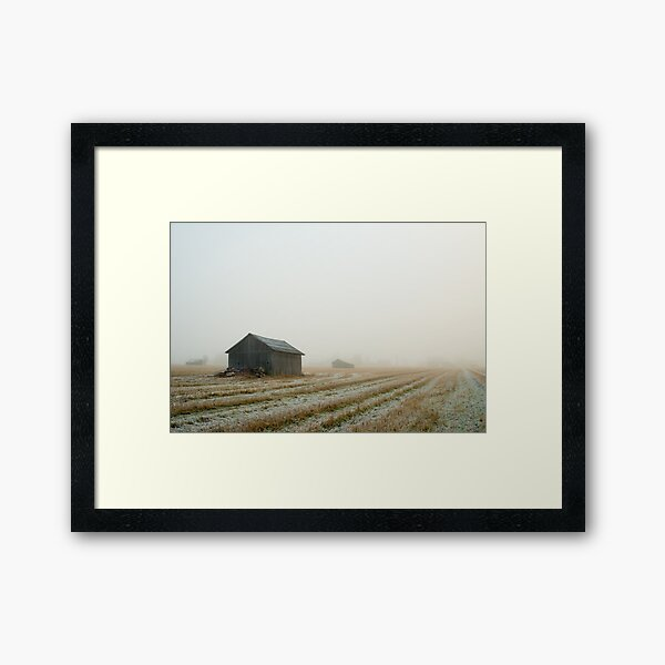 Barn Framed Art Print