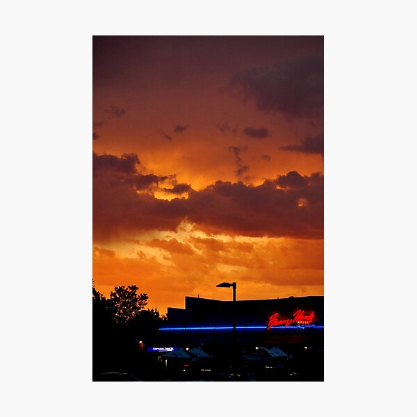 Summer evening at Barwon Heads Photographic Print