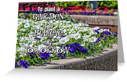 believe in tomorrow by Lenore Locken