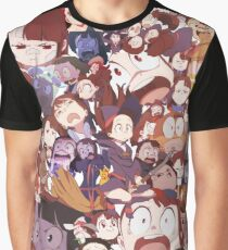 Dumb Akko Faces Graphic T-Shirt