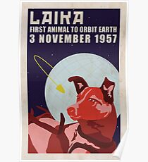 Laika - Space Dog Poster