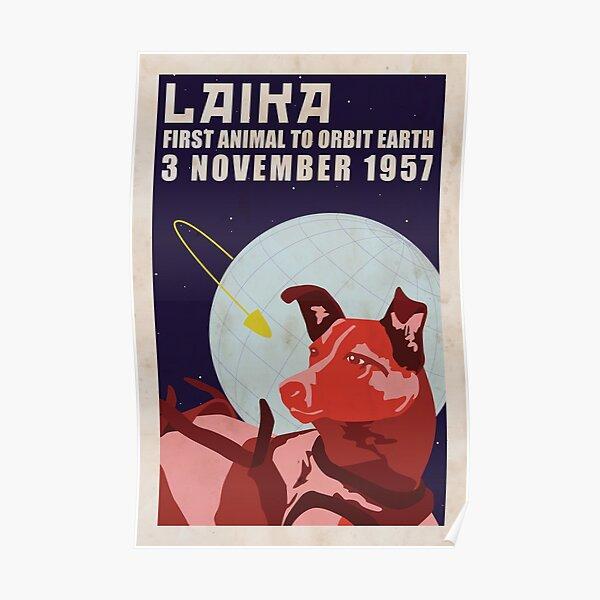 Laika - Space Dog Poster