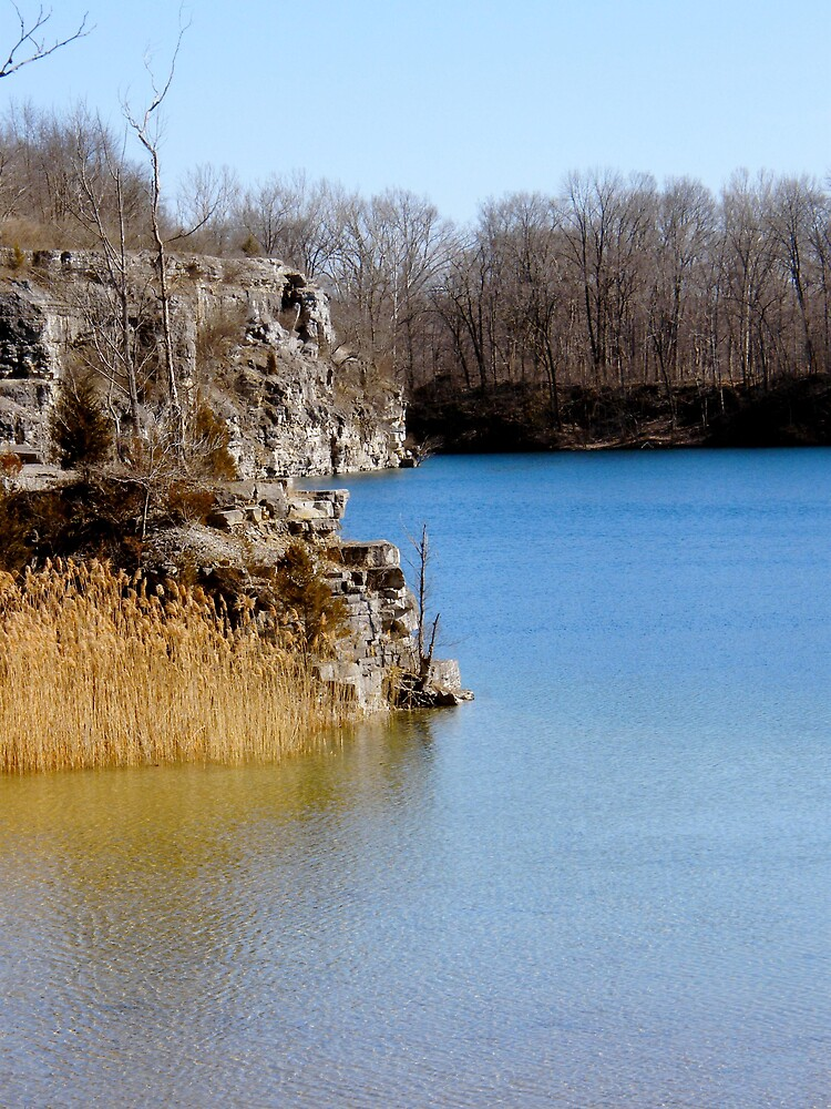 Stone Quarry Turned Swimming Hole by stopthat