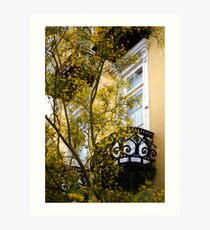 East Battery Floral Art Print