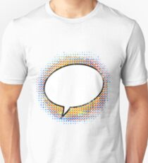 Cartoon Speech Bubble - Saying Nothing T-Shirt