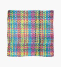 Realistic Plaid Pattern Weave Scarf