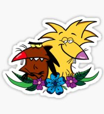 The Angry Beavers Sticker