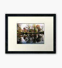 #307       Raw Reflection Framed Print