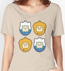 Tamago Chibi Finn & Jake Women's Relaxed Fit T-Shirt