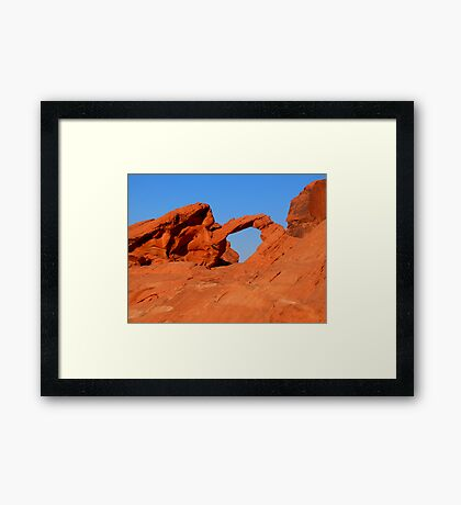 Valley Of Fire 6 Framed Print