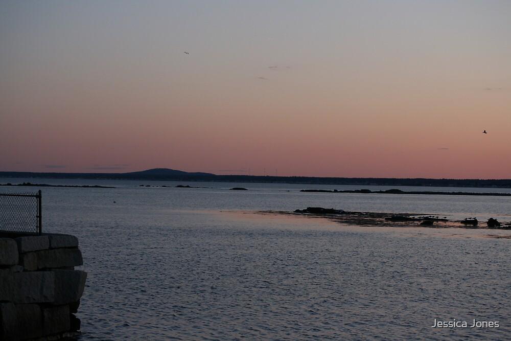 Seaside Sunset by Jessica Jones