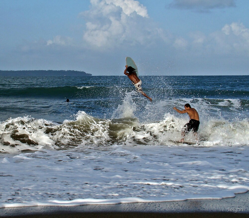 skim boarding by Jelynn