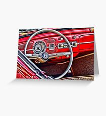 red vw love Greeting Card