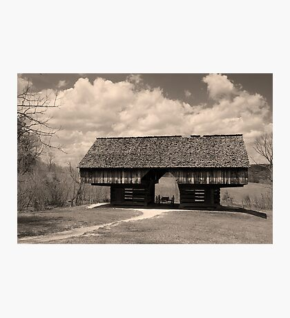 Cantilever Barn Photographic Print