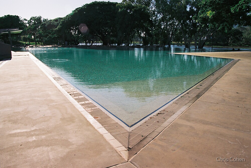 Riverside Swimming Pool, Townsville N.Q. by Chris Cohen