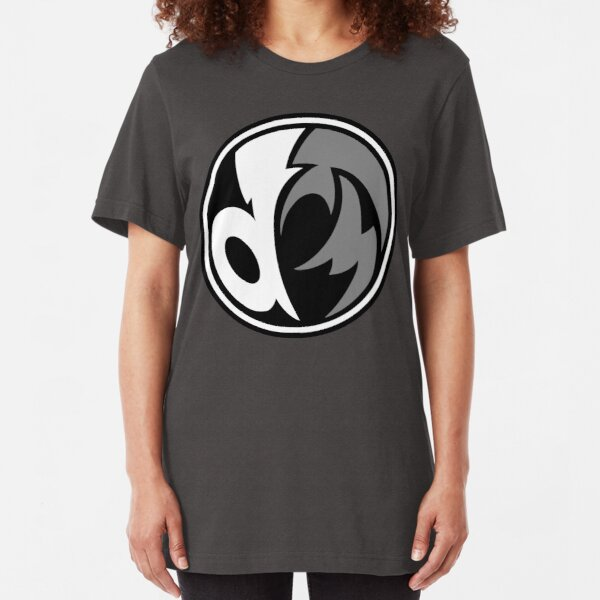 """DeaFM Records - """"Right Round"""" Slim Fit T-Shirt"""