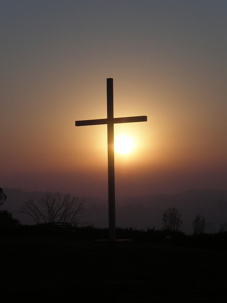 Sun Cross by Mark D Battersby