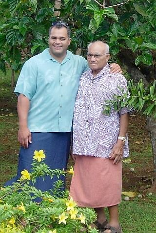 Samoan Chiefs, Father and Son by NaturalHealth2