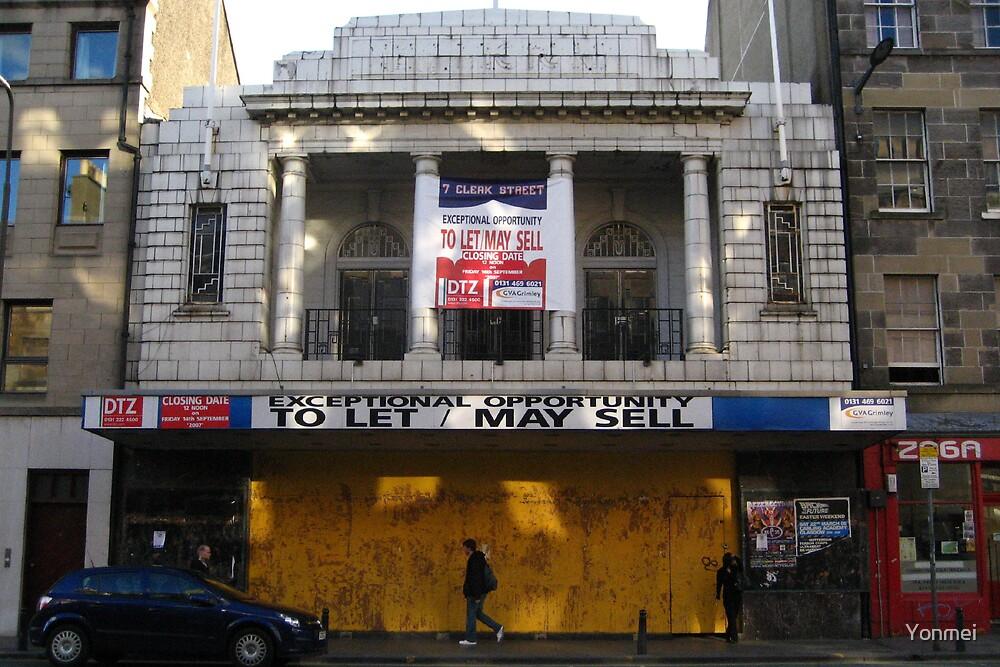 Cinema, South Clerk Street by Yonmei