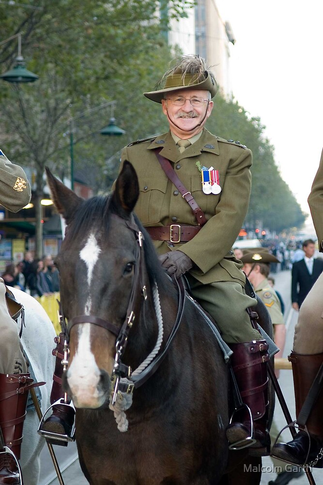 Light Horse - ANZAC Day by Malcolm Garth