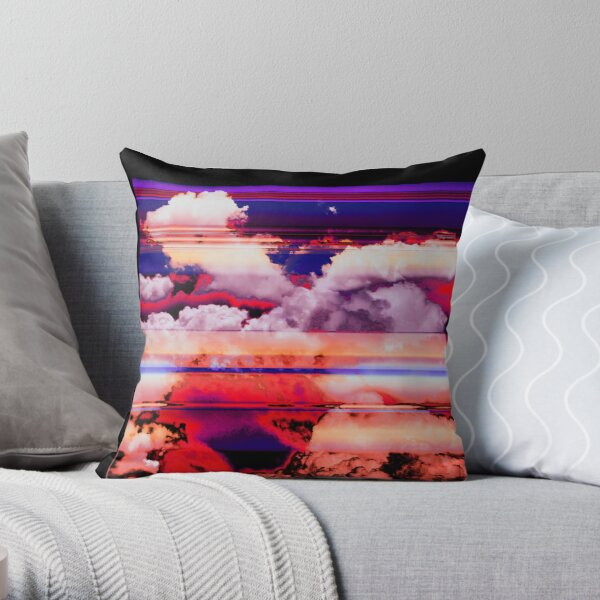 ALOHA X Throw Pillow