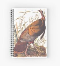 Audubon Wild Turkey Spiral Notebook