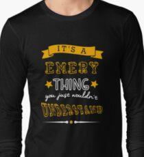 Name shirt custom design for - Emery Long Sleeve T-Shirt