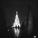 Floating Christmas Tree by Chris Fawkes