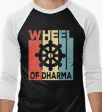 Buddhism Wheel of Dharma Vintage Retro T-Shirt