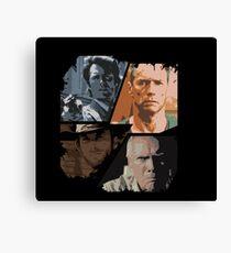 best of Clint Eastwood Canvas Print