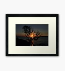 In Between In Colour Framed Print